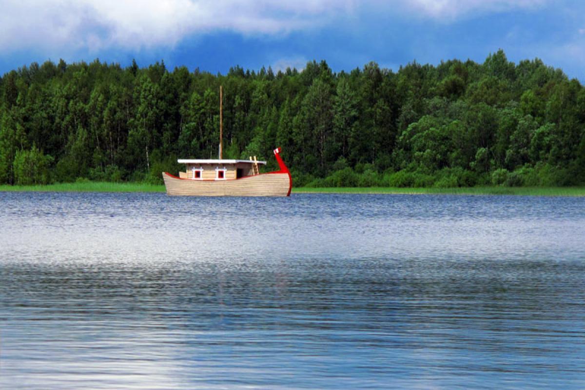 Floating bath :: Eco Club Valday